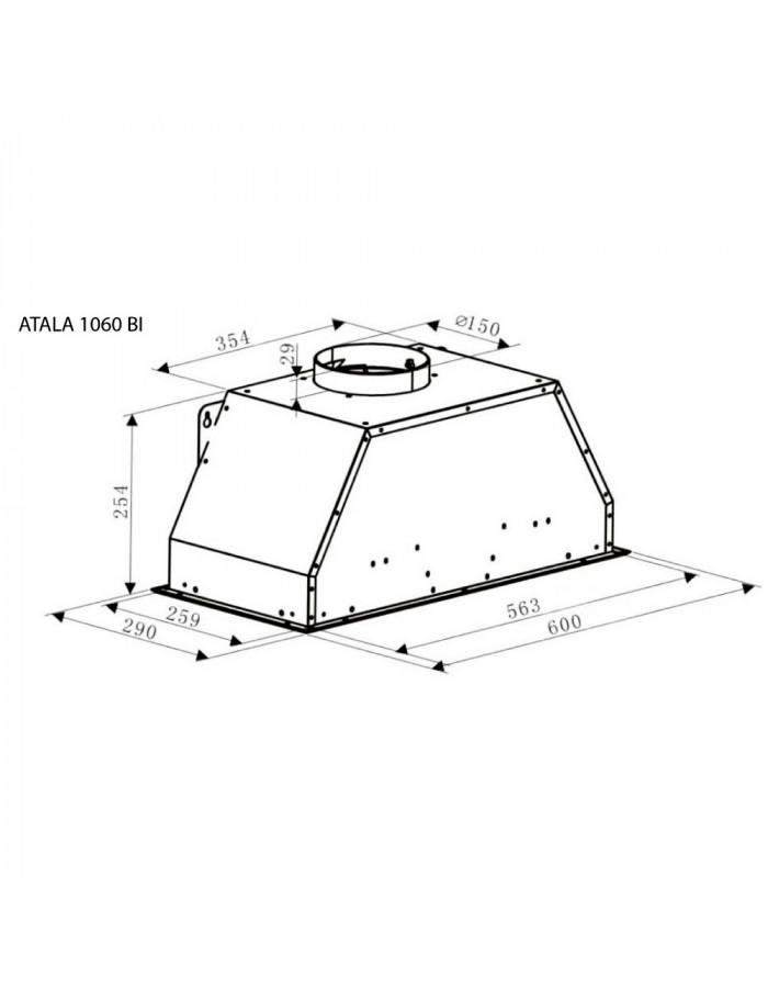 Вытяжка Gunter&Hauer ATALA 1060 BI