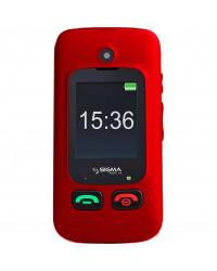 Мобильный телефон Sigma mobile Comfort 50 Shell DUO black-red