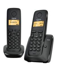 Телефон Gigaset A120 DUO Black