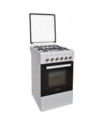Кухонная плита Canrey CGE 5040GT White