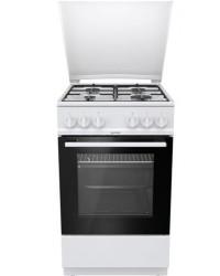 Кухонная плита Milano F55K11E/01 WHITE