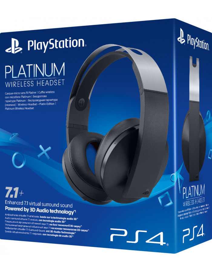 Гарнитура Sony PlayStation Platinum WL