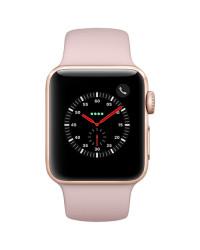 Смарт-часы Apple Watch Series 3 38mm Gold Aluminium Case with Pink Sand Spo