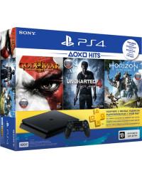 Игровые консоли Sony PlayStation 4 Slim 500 Gb Black (HZD+GOW3