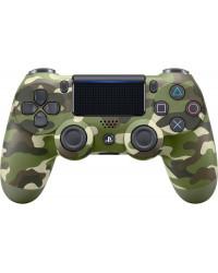 Игровая консоль Геймпад беспроводной SONY PlayStation Dualshock v2 Green Cammo