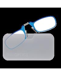 Очки для чтения Thinoptics 2.00, голубые + Чехол универ, прозр (2.0BLUWUP)