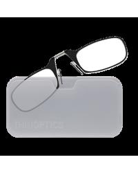 Очки для чтения Thinoptics 2.50, черные + Чехол универ, прозр (2.5BWUP)