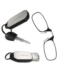 Очки для чтения Thinoptics 1.50, черные + Брелок для ключей (1.5BBKH)
