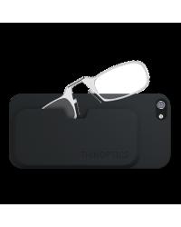 Очки для чтения Thinoptics 1.50, прозр + Чехол iPhone 5+5S, черный (1.5CBI5)