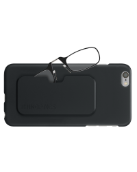 Очки для чтения Thinoptics 1.50, черные + Чехол iPhone 6+6S Plus, черный (1.5BBI