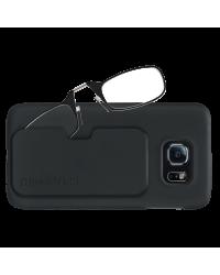 Очки для чтения Thinoptics 2.00, черные + Чехол Galaxy S6, черный (2.0BBS6)