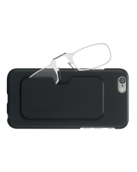 Очки для чтения Thinoptics 2.50, прозр + Чехол iPhone 6+6S, черн (2.5CBI6)