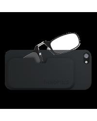 Очки для чтения Thinoptics 2.50, черные + Чехол iPhone 5+5S, черн (2.5BBI5)