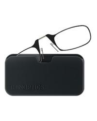 Очки для чтения Thinoptics 1.00, черные / Чехол универ, черный (1.0BBUP)