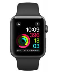 Смарт-часы Apple Watch Series 1, 38mm Space Grey Aluminium Case with Black