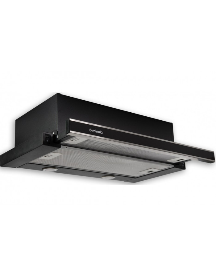Вытяжка Minola HTL 6062 I/BL GLASS 450 LED