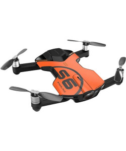 Квадрокоптеры Wingsland S6 GPS 4K Pocket Drone (Orange)