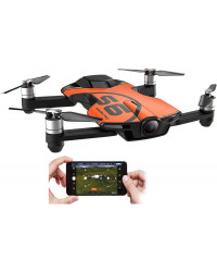 Квадрокоптеры Wingsland S6 GPS 4K Pocket Drone-2 Batteries pack (Orange)