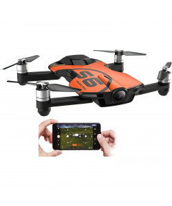 Квадрокоптеры Wingsland S6 GPS 4K Pocket Drone-2 Batteries pack (Orange)