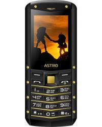 Мобильный телефон Astro B220 Black/Gold