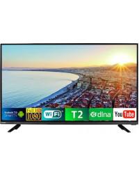 Телевизор Bravis LED-43E6000 + T2 black