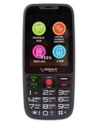 Мобильный телефон Sigma mobile Comfort 50 Elegance 3 Black