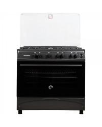 Кухонная плита Milano F55 G4/01 steel