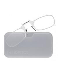 Очки для чтения Thinoptics 2.00, прозр + Чехол универ, прозр (2.0CWUP)