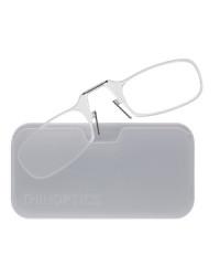 Очки для чтения Thinoptics 1.00, прозр + Чехол универ, прозрачный  (1.0CWUP)