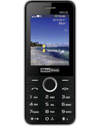 Мобильный телефон Maxcom MM136 Black-SIlver