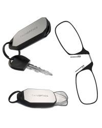 Очки для чтения Thinoptics 1.00, черные / Брелок для ключей (1.0BBKH)