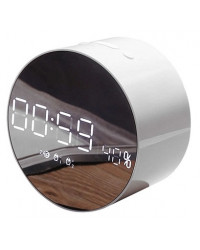 Портативная акустика JoyRoom JM-R8 Alarm Clock White