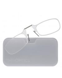 Очки для чтения Thinoptics 2.50, прозр + Чехол универ, белый (2.5CWUP)