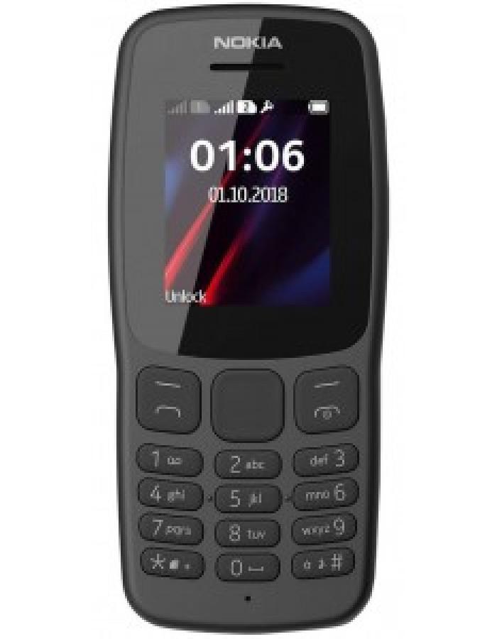 Мобильный телефон Nokia 106 (2018) Black