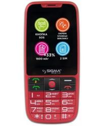 Мобильный телефон Sigma Comfort 50 Elegance 3.0 Red
