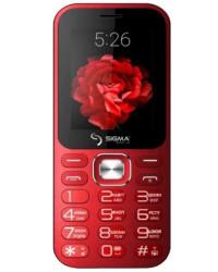 Мобильный телефон Sigma X-style 32 Boombox Red