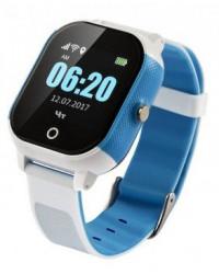 Смарт-часы GoGPS К23 синие с белым