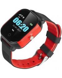Смарт-часы GoGPS К23 черные с красным