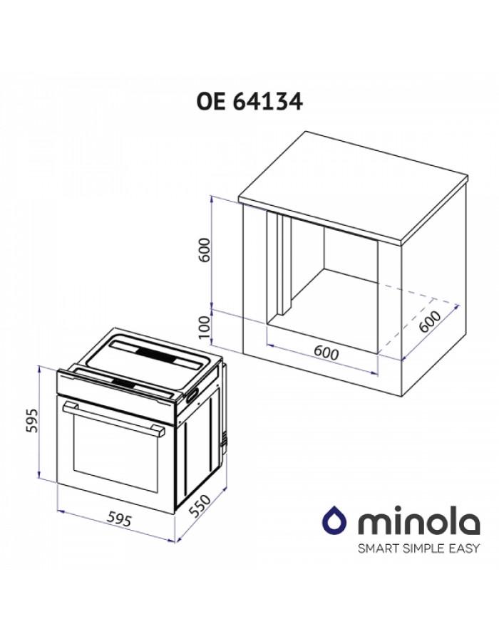 Духовой шкаф Minola OE 64134 IVORY