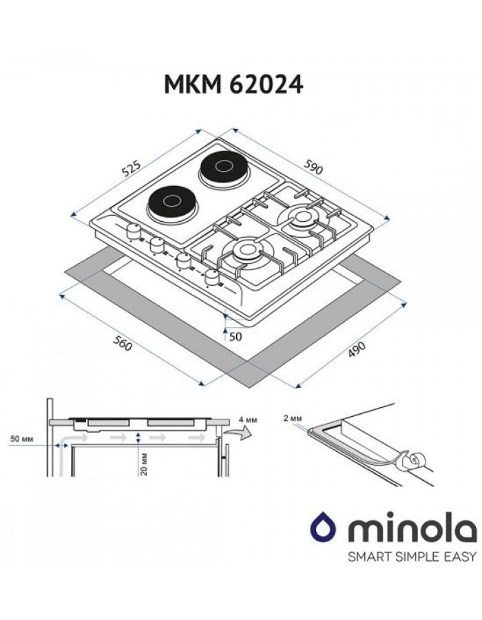 Варочная поверхность Minola MKM 62024 BL
