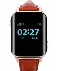 Смарт-часы GoGPS М01 золотые