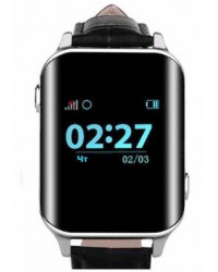 Смарт-часы GoGPS М01 хром