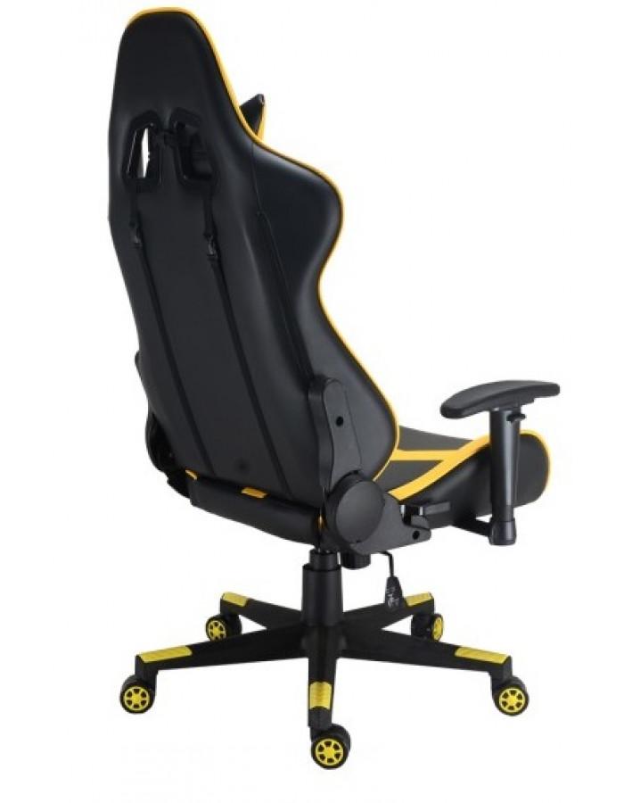 Геймерское кресло GT Racer X-2527 Black/Yellow
