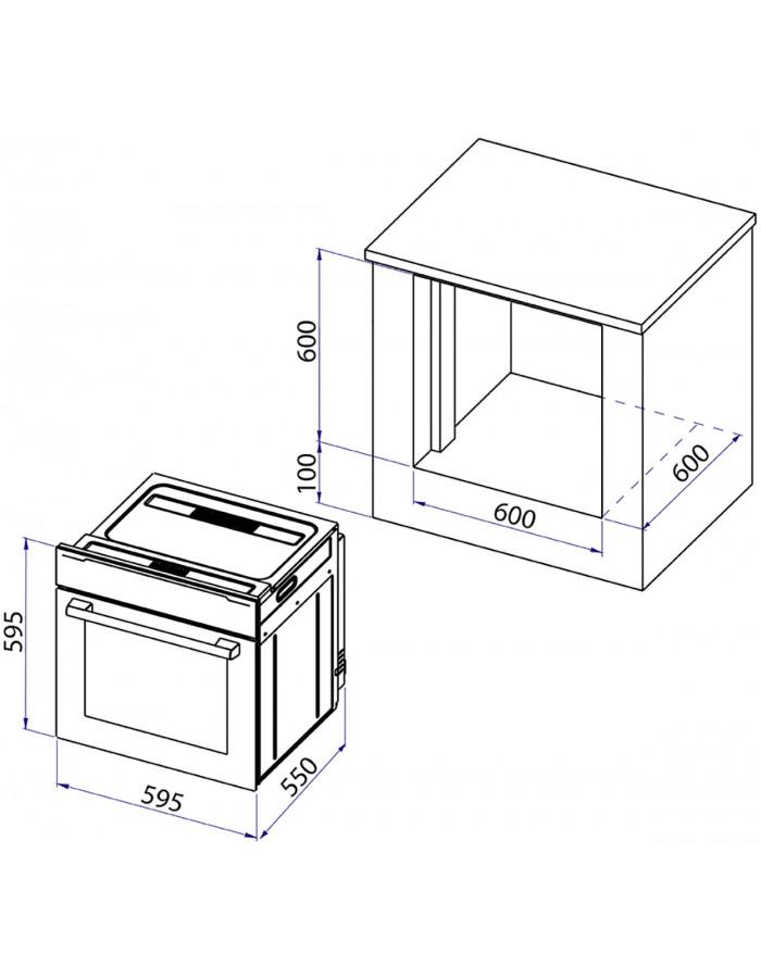 Духовой шкаф Minola OE 6313 INOX