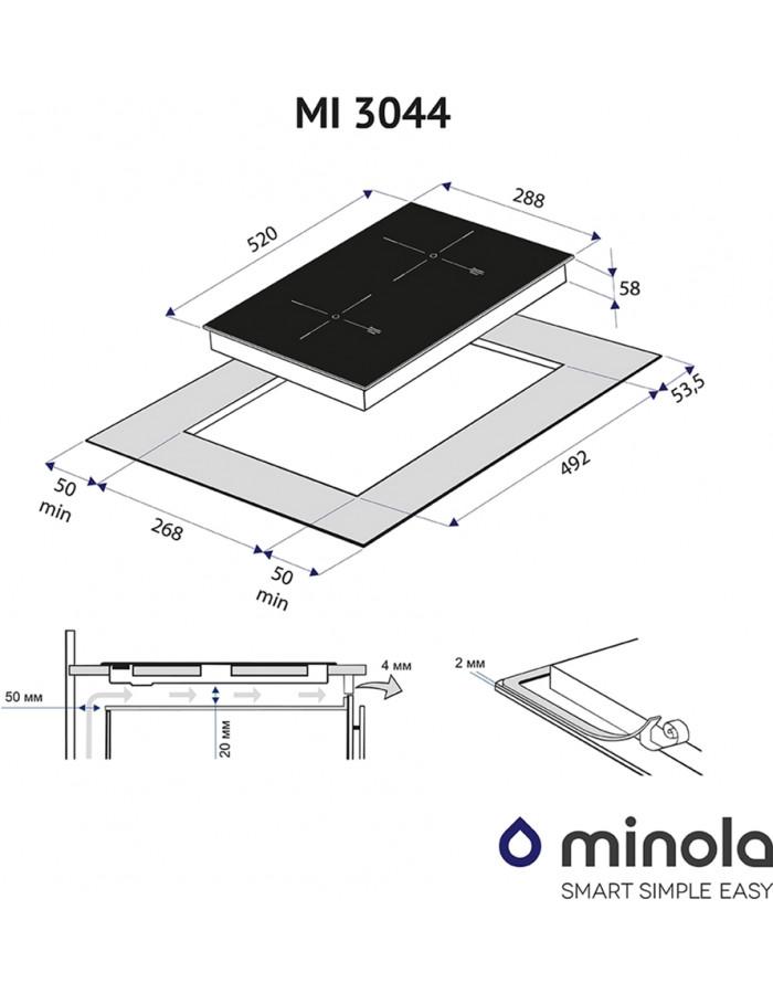 Варочная поверхность Minola MI 3044 GBL