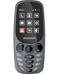 Мобильный телефон Assistant AS-201 Grey