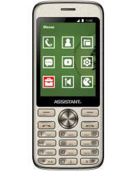 Мобильный телефон Assistant AS-204 Gold