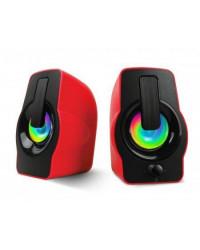 Портативная акустика Havit HV-SK586 USB, 2,0, red