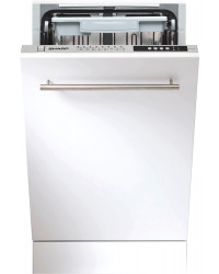 Посудомоечная машина Sharp QW-S41I472X-UA