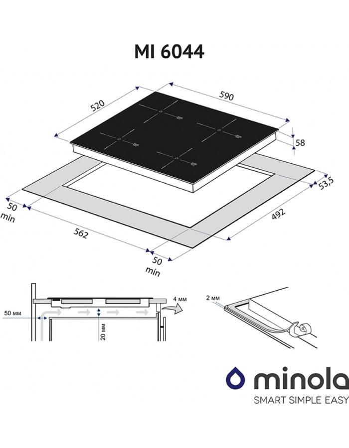 Варочная поверхность Minola MI 6044 GW